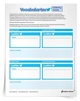 vocabulary-practice-worksheets-vocabularize-tweets-activity-350px