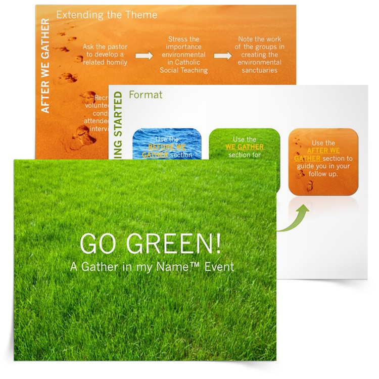 <em>Go Green!</em> Planner and Presentation