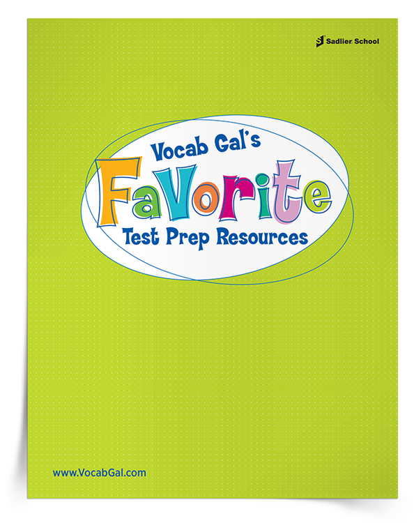 <em>Vocab Gal's Favorite Test Prep Resources</em> Kit image