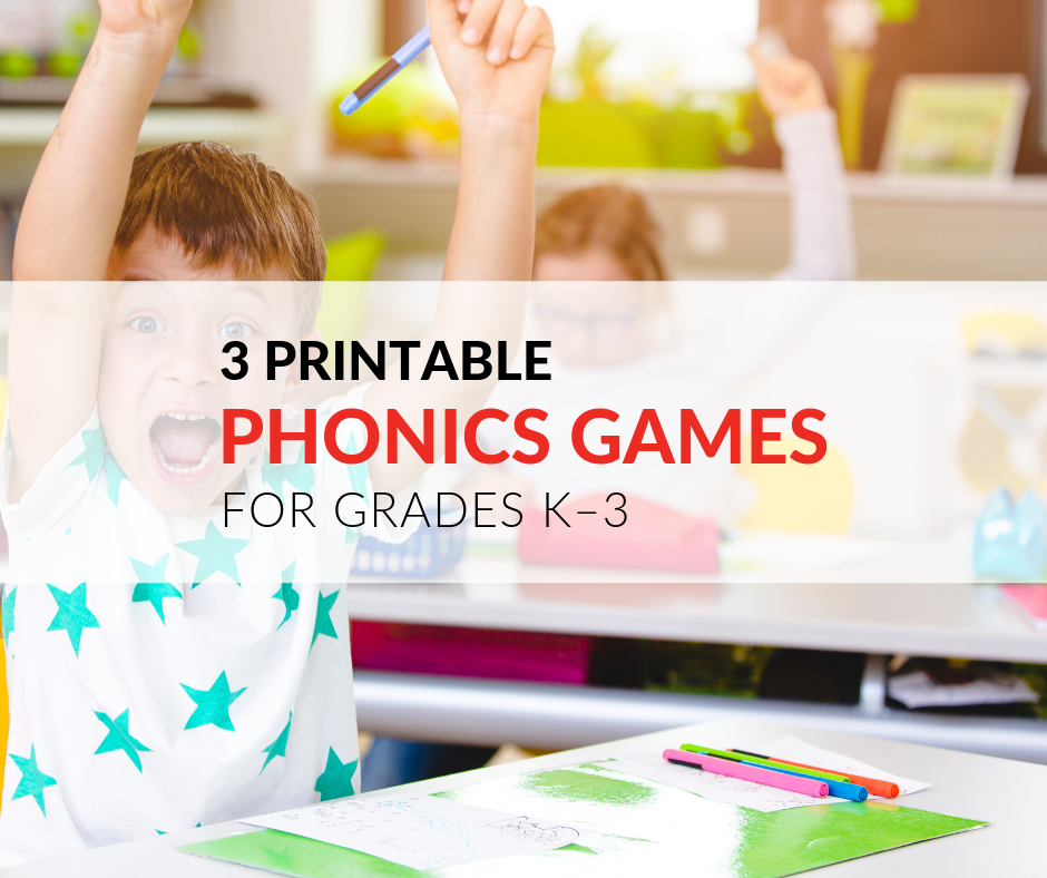 picture about Printable Phonics Games titled 3 Printable Phonics Online games for Early Basic Pupils