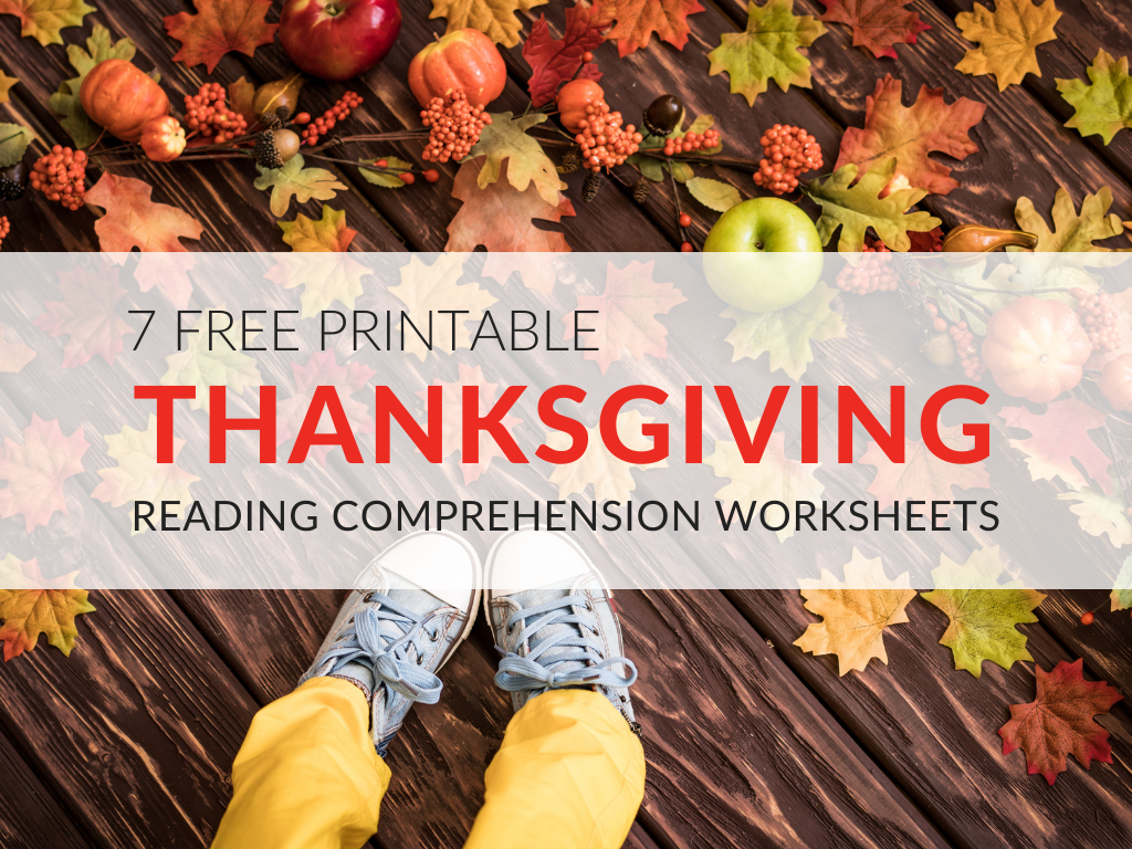 Thanksgiving Reading Prehension Worksheets For Grades 1