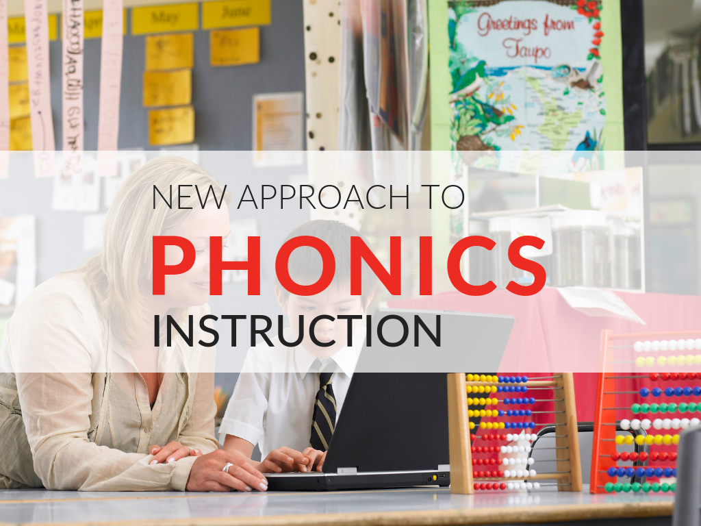 New Approach to Phonics Instruction From Early Literacy